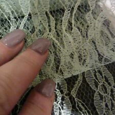 Floristry Tulle Baby Blue Fabric 3m piece bow craft fine mesh 6in wide 5cm