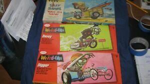 weird ohs vintage model kits