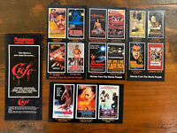 Lot of 5 Roadshow Home Video promo FLIER rare Australian VHS flyer precert