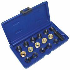 Zündkerzen Gewinde Reparatursatz, Gewindeschneider M14x1,25 Gewindebuchsen