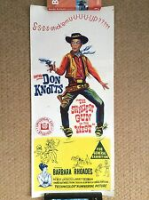 THE SHAKIEST GUN IN THE WEST Orig WESTERN Movie Poster DON KNOTTS JACKIE COOGAN