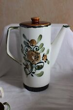BOCH BELGIUM Argenteuil Coffee Pot  Handpainted