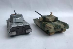 Matchbox king tiger and chieftan battle kings tank range.