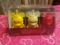 "Disney LE 2000 Set Of 6 Condiments 3"" Vinylmation"