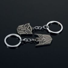 2X Car Transformers metal keychain car waist hanging key ring chain pendant