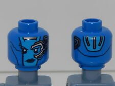 Lego Minifigure Head Super Heroes Guardians of the Galaxy Nebula H87