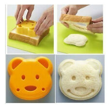 Bear Toast Bread Food Sandwich Cutter Cute Mold Shape Cake Mould Maker DIY 549