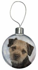 Border Terrier Dog Christmas Tree Bauble Decoration Gift, AD-BT3CB