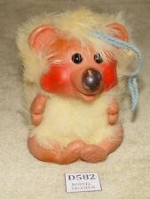 VINTAGE PLASTECH RAULS HAPPY GANG YELLOW KOALA BEAR 1960s TROLL TROLLS ANIMAL