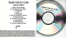 DEATH CAB FOR CUTIE Narrow Stairs US 11-trk numbered/watermarked promo test CD