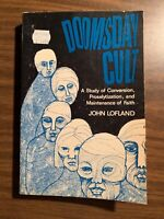 1966 DOOMSDAY CULT JOHN LOFLAND OCCULT BOOK