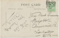 "2455 ""HAVERHILL"" Squared Circle Postmark (Cohen Type II CT) very fine strike pc"