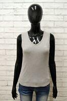 Maglia CHAMPION Donna Taglia Size L Maglietta Canotta Shirt Woman Cotone Slim
