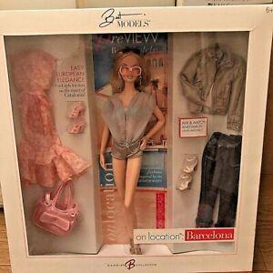 Mattel On Location Barcelona Barbie Doll 2007 Pink Label Best Models K7917