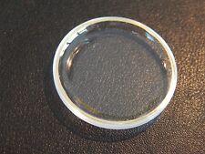 Reloj de cristal Plexi Glass Para Omega Seamaster con anillo tensor de oro 32.8 mm