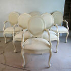 Vintage 1990s Set Of Six Dining Armchairs In The Style Of Donghia