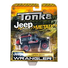 Tonka Metal Jeep Wrangler Black Special Edition