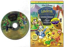 SALUDOS AMIGOS & THE THREE CABALLEROS Disney RARE R1 with Slipcover