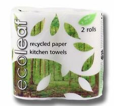 Suma Ecoleaf 3 Ply Kitchen Towel Twin Roll Pack (Pack of 4)