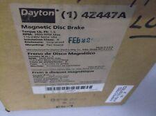DAYTON  4Z447A MAGNETIC DISC BRAKE  115 230 VOLT 3600 RPM MAX