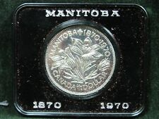 1970 Canada Centennial of Manitoba Proof-like One Dollar Coin