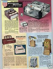 1962 PAPER AD Novelty Telephone Gambling Slot Machine French Wall