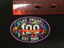 Las Vegas 100 Years Est 1905 Embroidered Logo Iron-On Patch