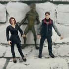X-Files Action Figures Scully Mulder Alien Mcfarlane 1999 Loose Figures