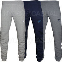 New Mens Nike Fleece Joggers, Tracksuit Bottoms, Sweat Jogging Pants S M L XL