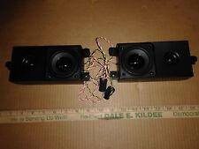 """8Hh28 Pair Of Speakers From Vizio 42"""" Tv, Sound Great, Very Good Condition"""