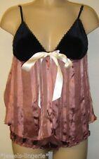 Silk Glamour Babydoll Short Lingerie & Nightwear for Women