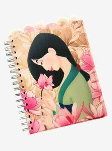Disney's Mulan Magnolias Tabbed Journal, NEW