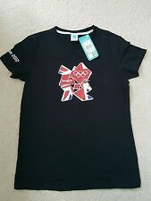 Ladies',womens' 100%CTN  London Olympic theme t shirt size 14 .brand new