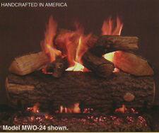 "Real Fyre Weathered Oak 30"" Vented Gas Log Propane"