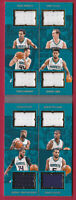 2016-17 Preferred Crazy Eights Jersey Booklet Hornets #49/149 Zeller Lamb Walker