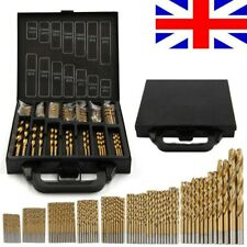 99pcs Micro HSS Twist Drill Bits Set 1.5-10mm Hand DIY Craft Tool Bit Wood Metal