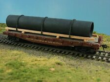 CUSTOM HO FREIGHT CAR PIPE LOAD