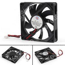 1Pcs DC Brushless Cooling PC Computer Fan 5V 8015s 80x80x15mm 2 Pin Wire Fan UK