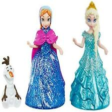 Disney Frozen Glitter Glider Anna Elsa & Olaf Doll Set Toy Play Quick Mattel New
