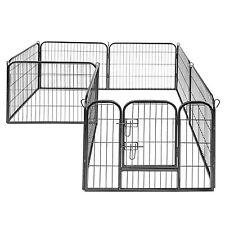 Welpenauslauf 8x 80x80cm Welpenzaun Welpen Freigehege Tierauslauf Hundeauslauf