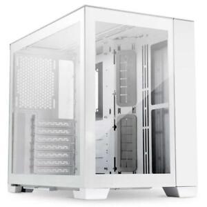 Lian-Li O11D Mini-S Snow Edition Case - White Mini Tower O11D Mini-S