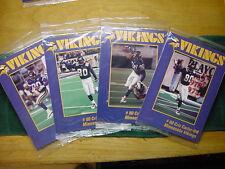 AWESOME Cris Carter 4-Card Limited Edition Set, Minnesota Vikings, RARE&MINT!