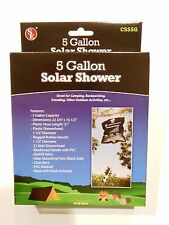 Portable 5 Gallon Solar Shower Camping Boating Travel Outdoor Survival  CSS5G