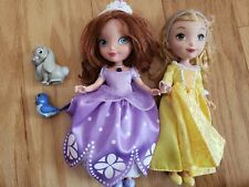disney sofia the first talking doll plus amber lot of 2