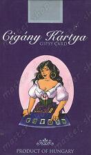 SEALED DECK of 36 GYPSY TAROT CARD on 6 LANGUAGES, Kviz, Joseph Vincent #001 -UK