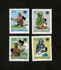 Botswana 1987 - Scott# 397-400 - U.N. Child Survival - Set of 4 Stamps - MNH