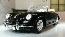 Véhicules miniatures argenté en plastique pour Porsche