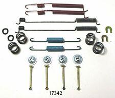 Drum Brake Hardware Kit Rear Parts Plus P17342 fits 93-99 Nissan Altima