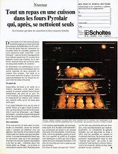 Publicité Advertising 097  1979  Scholtès  four Pyrolair