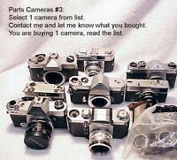 Various Brands Cameras for Parts #3 | From USA | $8.95 ANY ONE CAMERA  | Read |